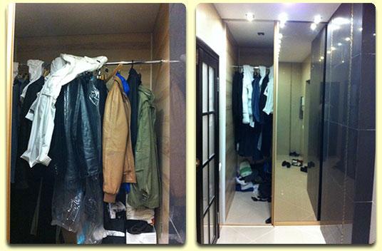 Видео курс научит Вас создавать подобные шкафы и гардеробные комнаты